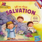 Tell Me about Salvation (with stickers & CD): Wonder Kids-Train 'Em Up