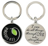 I Can Do All Things, Philippians 4 13 Keyring