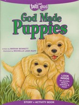 God Made Puppies Story & Activity Book