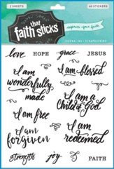 Who I Am in Christ: Faith That  Sticks--Stickers