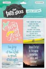 Faith That Sticks: Stickers Jeremiah 29:11 +
