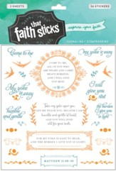Faith That Sticks: Stickers Matthew 11:28-30