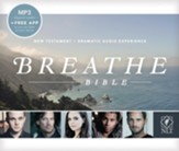 NLT Breathe Bible Audio New  Testament, MP3 on CD
