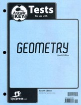 BJU Geometry Tests Answer Key, Grade 10 (Fourth Edition)