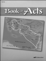Abeka Book of Acts Tests Key