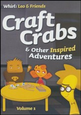 Craft Crabs and Other Inspired Adventures: Volume 1, DVD