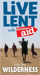 Live Lent with Christian Aid pack of 10: Into the Wilderness