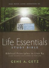 HCSB Life Essentials Study Bible, Hardcover Thumb Indexed  - Imperfectly Imprinted Bibles