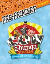 Cowabunga Farm VBS: Pre-Primary Student Activity Sheets, KJV