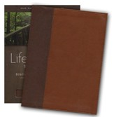 HCSB Life Essentials Study Bible, Simulated Leather Thumb Indexed Brown - Slightly Imperfect