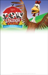 Cowabunga Farm VBS: Theme Invitation Fliers, pack of 50