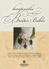 HCSB Bride's Bible White with Gold                                                        - Slightly Imperfect