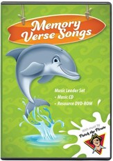 Ocean Commotion VBS Traditional: Memory Verse Songs Leader  Set