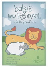HCSB Baby's New Testament with Psalms - Pink