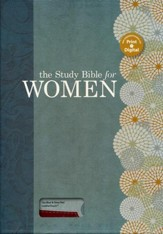 HCSB The Study Bible for Women, Sky Blue and Red Clay LeatherTouch