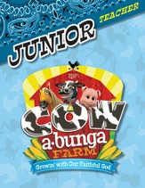 Cowabunga Farm VBS: Junior Teacher Book, NKJV