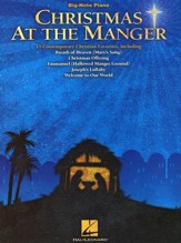 Christmas At the Manger (Big-Note Piano)