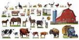 Cowabunga Farm VBS: Farm Bulletin Board Set, 37 pieces