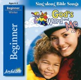 God's Word and Me Beginner (ages 4 & 5) Audio CD
