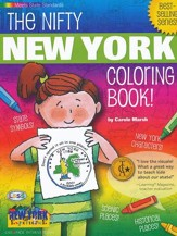New York Coloring Book, Grades PreK-3 - Slightly Imperfect
