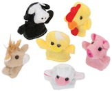 Cowabunga Farm VBS: Farm Animal Finger Puppets, Package of 12 Assorted