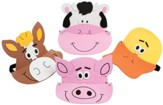Cowabunga Farm VBS: Farm Animal Visors, 12