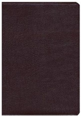 KJV Super Giant Print Reference Bible Burgundy Genuine Leather - Slightly Imperfect