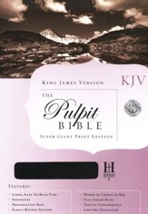 KJV Pulpit Bible -- Slightly  Imperfect