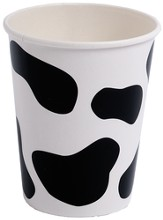 Cowabunga Farm VBS: Cow Print Cups, pack of 8