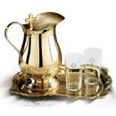 Solid Brass Water-Serving Set