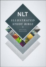 NLT Illustrated Study Bible--hardcover, indexed