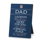 Dad, I Always Thank My God For You Plaque