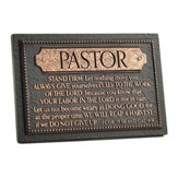 Stand Firm Pastor Plaque