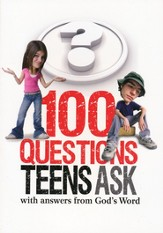 100 Questions Teens Ask with answers from God's Word - eBook