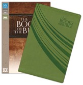 The Books of the Bible, NIV, Italian Duo-Tone, Green - Slightly Imperfect