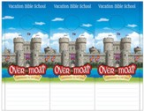 Over the Moat VBS: Theme Doorknob Hangers, 48 pack