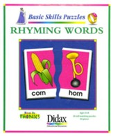 Basic Skills Puzzles: Rhyming Words