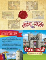 Over the Moat VBS: Theme Passes, 10 pack