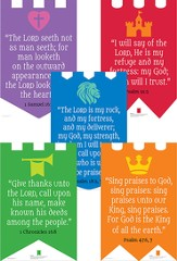 Over the Moat VBS: Verse Posters, 5 pack
