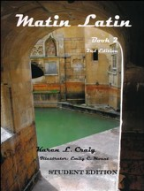 Matin Latin #2 Student Text, 2nd Edition