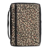Leopard Bible Cover, Extra Large
