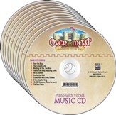 Over the Moat VBS: Music CD 10-pack - Piano with vocals