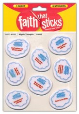 Mighty Thoughts Puffy Stickers