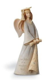 Graduation Mini Angel Figurine