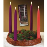 Anticipation Advent Wreath Candleholder