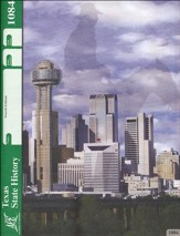 4th Edition Texas History PACE 1084 Grade 7