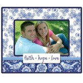 Faith, Hope, Love Bluebird Photo Frame