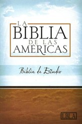 LBLA Biblia de Estudio LBLA Study Bible, Thumb-Indexed