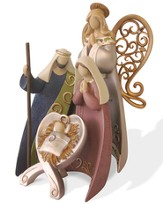 Legacy of Love Nesting Nativity Set 4 Pieces