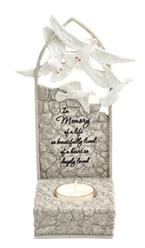 In Memory Of A Life Beautifully Lived Tealight Holder